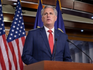Kevin McCarthy Details House GOP Majority 'Vision for the Future'