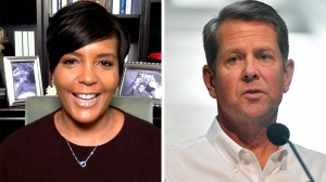 Georgia governor drops lawsuit against Atlanta mayor over mask mandate