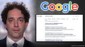 Alex Berenson accuses Google of skewing search results for 'socialism and racism' to include 'capitalism'