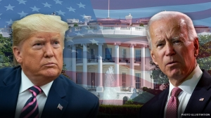 Trump campaign plans huge digital ad buy ahead of DNC, as Biden airs first ad with Harris