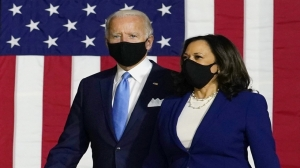 Biden responds to Trump's attack on his mental fitness; Harris calls primary clash 'distraction'