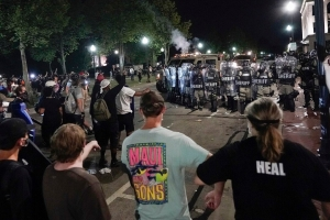 Kenosha protesters, police clash in second night of unrest