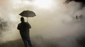 Portland police declare riot after protesters break windows, enter City Hall