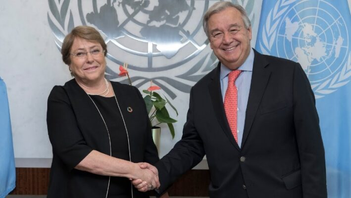 Michele Bachelet sworn in as new High Commissioner for Human ...