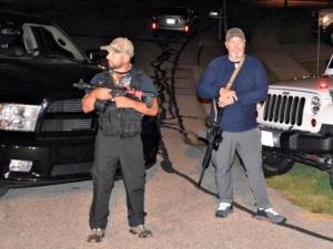 Armed Residents Stand Guard to Protect Kenosha Neighborhood
