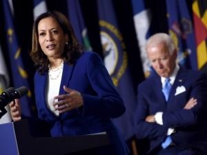 Donald Trump: Joe Biden Says 'Harris-Biden' Because He Thinks Kamala Harris Is President