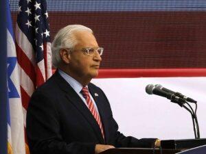 David Friedman: Joe Biden Helped Middle East Peace Deal Only by Being So 'Hostile'