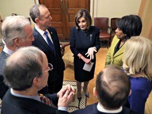 'Go Ahead': Donald Trump Dares Nancy Pelosi to Try to Impeach Him Again