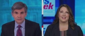 Ronna McDaniel, George Stephanopoulos Clash Over Trump's 'Lock Her Up' Rally Chant About Whitmer