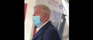 'I Won't Be Intimidated': Lindsey Graham Ambushed By Two Women As He Arrived In DC
