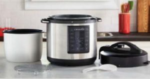 Crock-Pot 6-Quart Express Crock Multi-Cookers Recalled by Sunbeam Products Due to Burn Hazard
