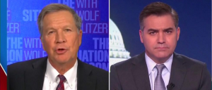 John Kasich Dismisses Flynn Pardon During Exchange With Jim Acosta: 'I Want To Move On'