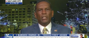 Rep.-Elect Burgess Owens Announces 'Freedom Force' To Fight Leftist 'Squad'