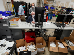 Georgia's Fulton County Recount Delayed After Dominion Server Crash