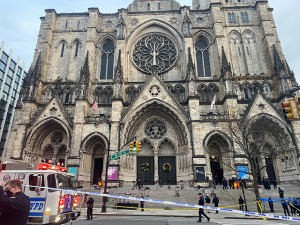 Man Shot Near NYC Cathedral After Allegedly Firing on Officers