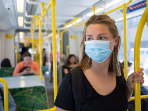 Poll: 71% Percent 'Confident' Mask Will Protect Them from Coronavirus