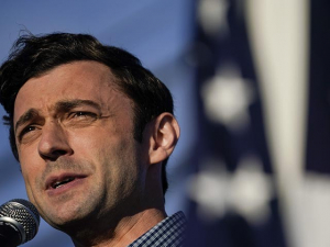 Donald Trump Tears into Jon Ossoff for China Ties