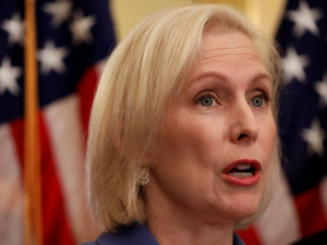 Gillibrand: 'Trump Is Just Kicking and Screaming Like the Child He Often Is'