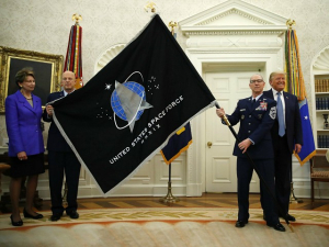 'Wow, Space Force' — Jen Psaki Shrugs Off Question About Sixth Military Branch