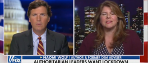 'We Are Turning Into A Version Of A Totalitarian State': Liberal Author Naomi Wolf Knocks Lockdowns