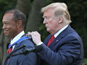 Trump on Tiger Woods: 'He's Going to Be Back –
