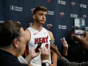 Heat's Meyers Leonard Away from Team Indefinitely After Using Anti-Semitic Slur