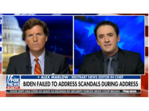 Alex Marlow to Tucker Carlson: Joe Biden's Speech Ignored Government's 'Anti-Science Lockdowns,' Nursing Home Deaths, Open Borders, Trump's Role in Vaccine Development