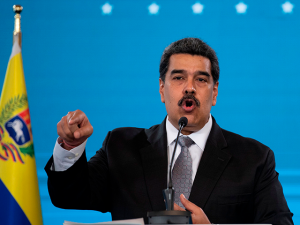Venezuela's Maduro: 'The U.S. Left the Rest of the World Without Vaccines'