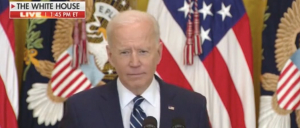There Was One Moment During The Presser That Biden Appears To Utterly Lose Track Of Himself