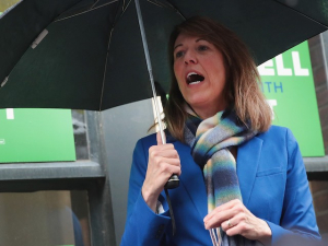 Iowa Democrat Cindy Axne 'Eyeing a Run' for Higher Office
