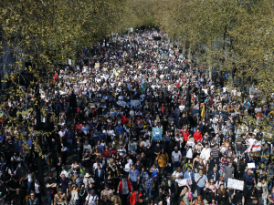 WATCH: Thousands Upon Thousands Rally Against Lockdown, Vax Passes in London