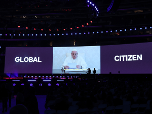 Pope Francis Tells 'Vax Live' Concertgoers to Abandon Individualism