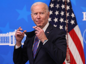 Joe Biden: 'Masks Have Needlessly Divided this Country'