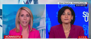 'It's A Free-For-All': Dana Bash Presses CDC Director On Leaving Locals To Fend For Themselves On Mask Rules