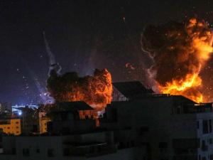 Watch: Israeli Precision Bombing Pounds Gaza Terror Tunnels