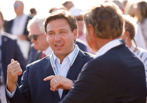 Gov. Ron DeSantis: 'Overwhelming' Number of People Moving to Florida Registering As Republican
