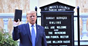 Left-Wing Catholic Paper Accuses U.S. Bishops of Worshiping at 'MAGA Church'