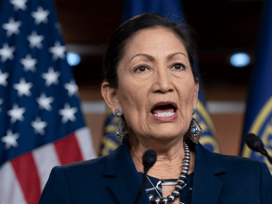 Biden's Native American Secretary Deb Haaland Makes 'Tribal Justice' a Priority