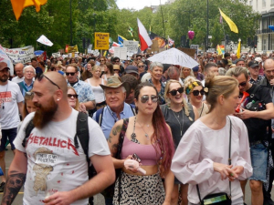 Delingpole: Thousands Converge on London for Anti-Lockdown Rally. Ignored Again by MSM