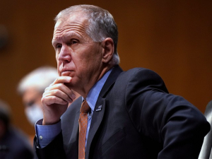 Thom Tillis: 'Profoundly Disappointed' Pelosi Holding Infrastructure Hostage