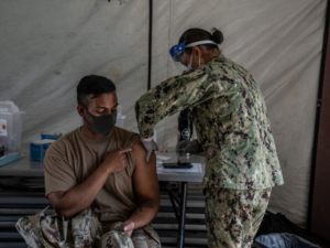 Pentagon: Leaders Will Look into Making COVID-19 Vaccine Mandatory if Approved by FDA