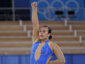 WATCH: Costa Rican Gymnast Includes Black Lives Matter Tribute in Olympic Floor Routine