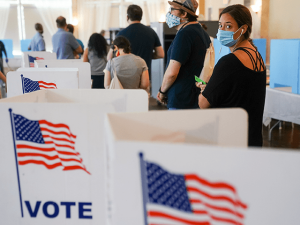 Report: Nearly All of Georgia's Eligible Voters Are Registered to Vote
