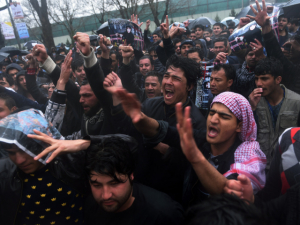 Watch: Angry Afghan Screams 'Go to Hell, Biden!' as Taliban Take Over