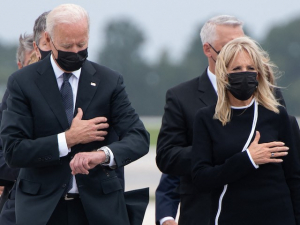 USA Today Forced to Correct 'Fact Check' Defending Biden over Looking at Watch During Dignified Transfer