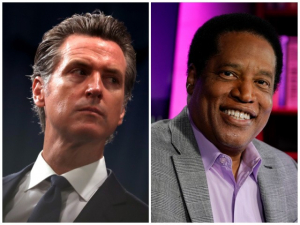 Gavin Newsom: A Vote for Larry Elder is a Vote Against 'Diversity' and 'Racial Justice'