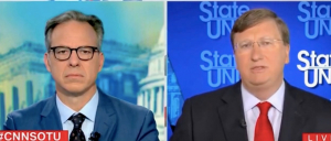 'I'm Trying To Talk About Dead Mississippians': Jake Tapper Presses Gov. Tate Reeves On COVID Death Rate
