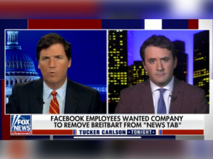 Marlow: TriggeredLeftist Facebook Employees Whined to Their Bosses to Censor Breitbart