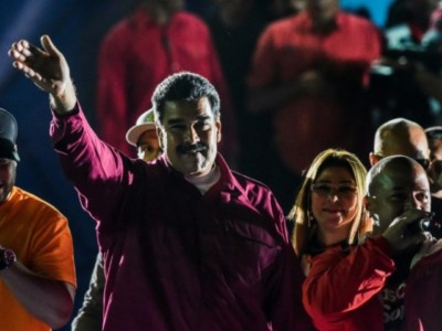 Venezuela: Maduro 'Reelected' with Record Low Turnout, Rampant Fraud.