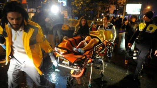 Istanbul nightclub attack: At least 35 dead after gunmen open fire at New Year's Eve party